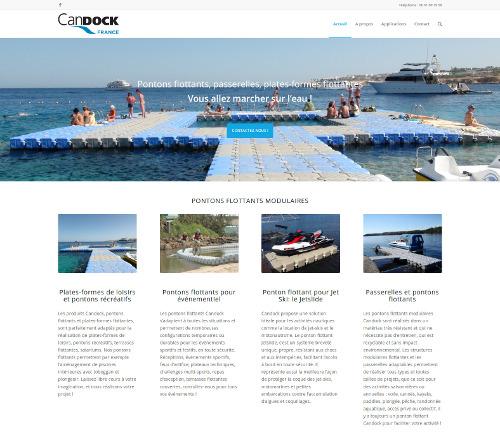 Plateforme flottante à La Seyne-sur-Mer